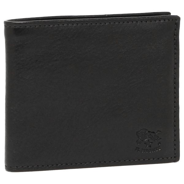 イルビゾンテ 折財布 メンズ レディース IL BISONTE C0487P 153 ブラック