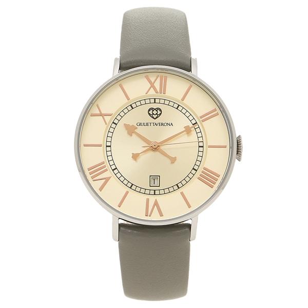 ジュリエッタヴェローナ 腕時計 レディース GIULIETTAVERONA GV007SIVGY シルバー グレー