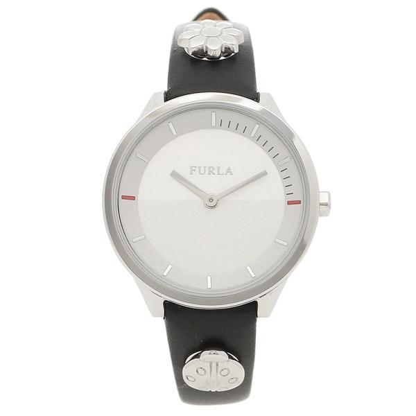 【4時間限定ポイント5倍】フルラ 腕時計 レディース FURLA 976518 R4251112507 LC4 ブラック シルバー
