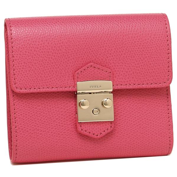 【24時間限定ポイント5倍】フルラ 二つ折り財布 レディース FURLA 963405 UTW PU28 ARE ピンク