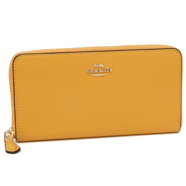 Coach Long Wallet Outlet Lady S F16612 Immc0 Yellow