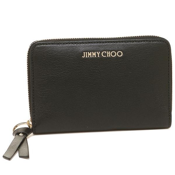 【4時間限定ポイント10倍】ジミーチュウ コインケース レディース JIMMY CHOO ブラック