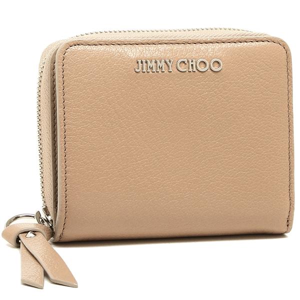 【4時間限定ポイント10倍】ジミーチュウ 二つ折り財布 レディース JIMMY CHOO ピンク