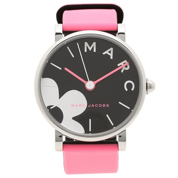 【4時間限定ポイント10倍】マークジェイコブス 腕時計 レディース MARC JACOBS MJ1622 ピンク ブラック シルバー