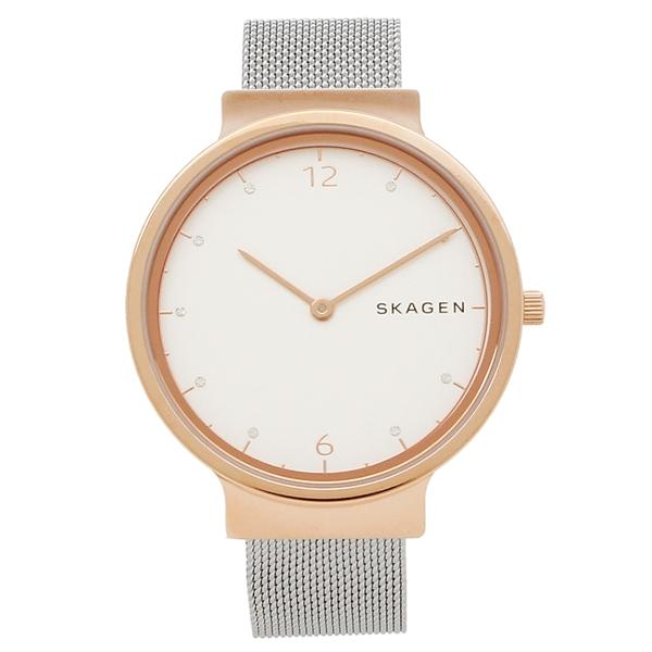 【返品OK】スカーゲン 腕時計 レディース SKAGEN SKW2616 ピンクゴールド シルバー ホワイト