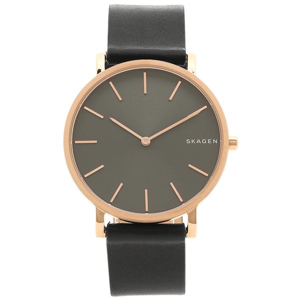 スカーゲン 腕時計 メンズ SKAGEN SKW6447 ピンクゴールド ブラック
