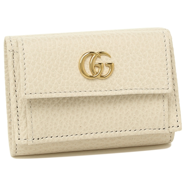 グッチ 折財布 レディース GUCCI 523277 CAO0G 9022 ホワイト