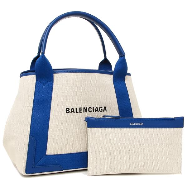 バレンシアガ トートバッグ レディース BALENCIAGA 339933 AQ38N 4181 ナチュラル ブルー
