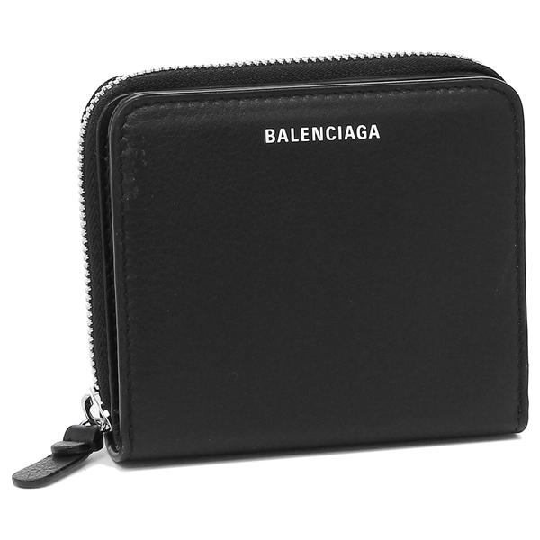 バレンシアガ ブラック 516366 1000 折財布 レディース DLQ0N BALENCIAGA