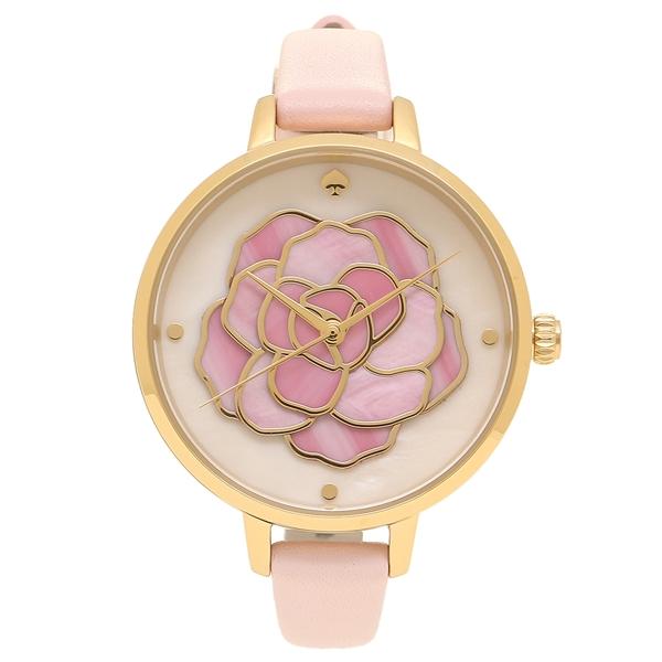 ケイトスペード 腕時計 レディース KATE SPADE KSW1257 ピンク イエローゴールド ホワイト
