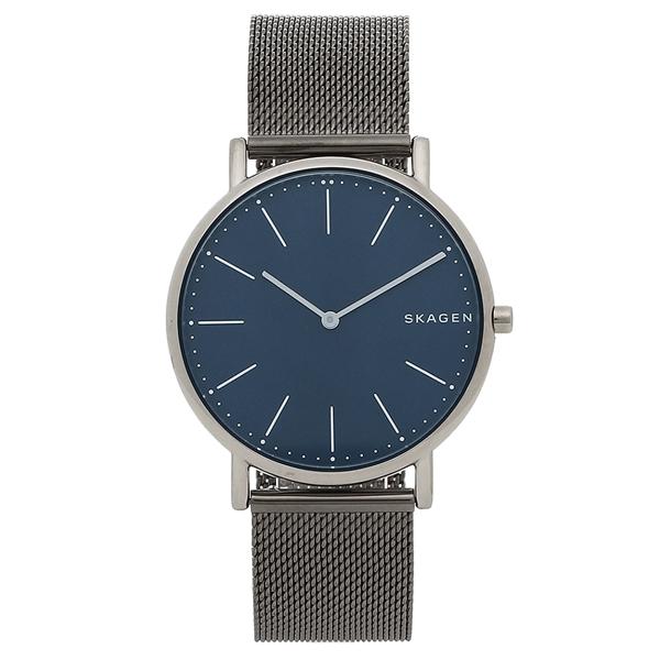 【4時間限定ポイント5倍】スカーゲン 腕時計 メンズ SKAGEN SKW6420 シルバー ブルー