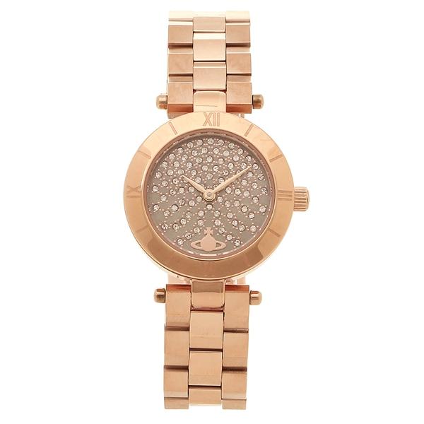 ヴィヴィアンウエストウッド 腕時計 レディース VIVIENNE WESTWOOD VV092CHRS ローズゴールド