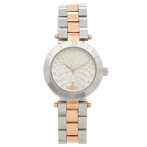 ヴィヴィアンウエストウッド 腕時計 レディース VIVIENNE WESTWOOD VV092SSRS シルバー ローズゴールド