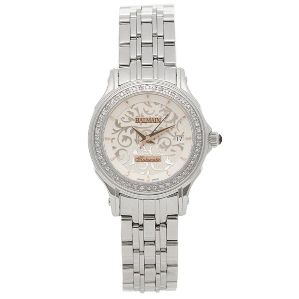 バルマン 腕時計 自動巻き レディース BALMAIN B1875.33.16 シルバー