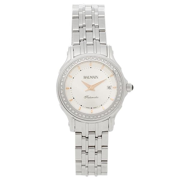 【4時間限定ポイント5倍】バルマン 腕時計 自動巻き レディース BALMAIN B1875.33.26 シルバー