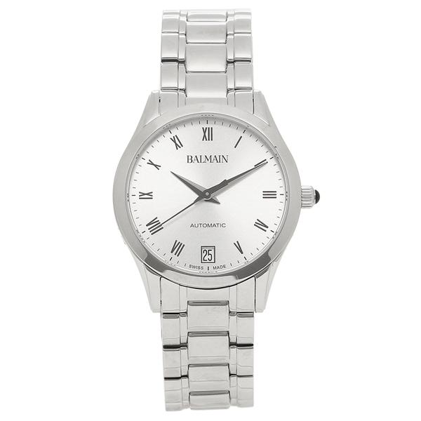 バルマン 腕時計 自動巻き レディース BALMAIN B4451.33.22 シルバー