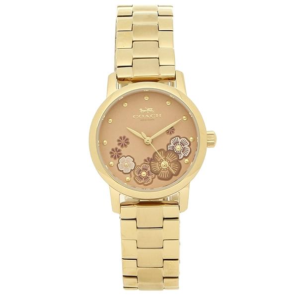 【4時間限定ポイント5倍】コーチ 腕時計 レディース COACH 14503056 イエローゴールド