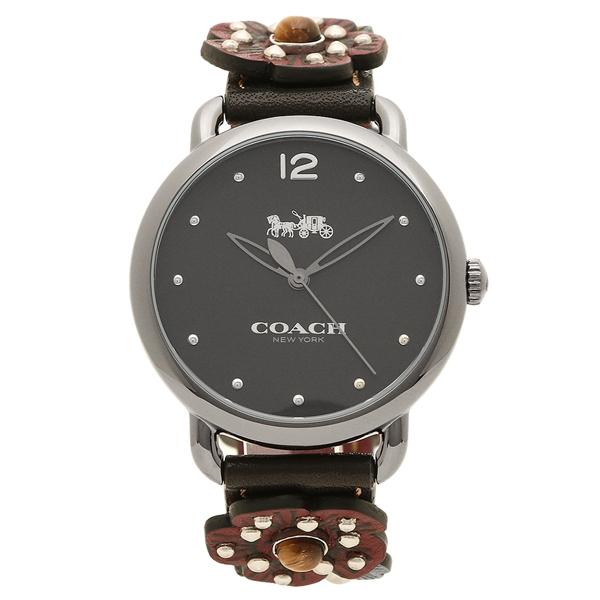 コーチ 腕時計 レディース COACH 14502948 ブラウン シルバー ブラック