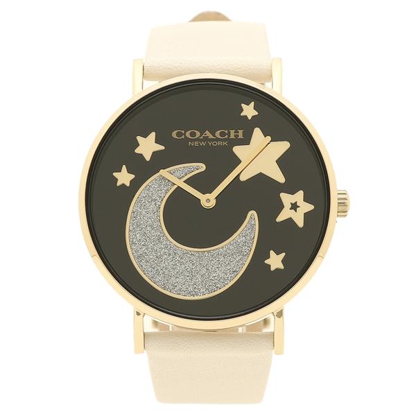 コーチ 腕時計 レディース COACH 14503041 ホワイト ブラック イエローゴールド, defi 34b82f7d