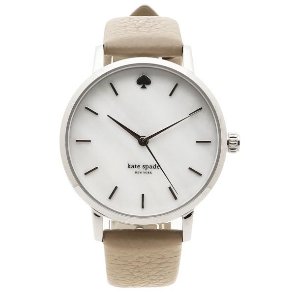 ケイトスペード 腕時計 レディース KATE SPADE KSW1141 ベージュ シルバー