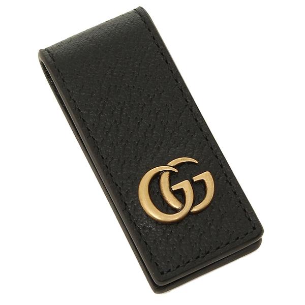 ed5a3d82 Gucci money clip wallet GUCCI 522885 DJ20T 1000 black