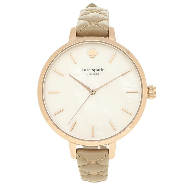 ケイトスペード 腕時計 レディース KATE SPADE KSW1470 ベージュ パール