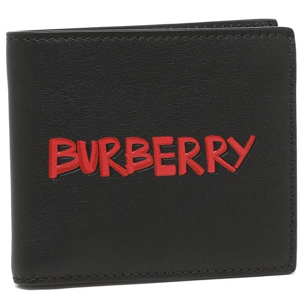 【24時間限定ポイント5倍】バーバリー 折財布 メンズ BURBERRY 4074055 00100 ブラック