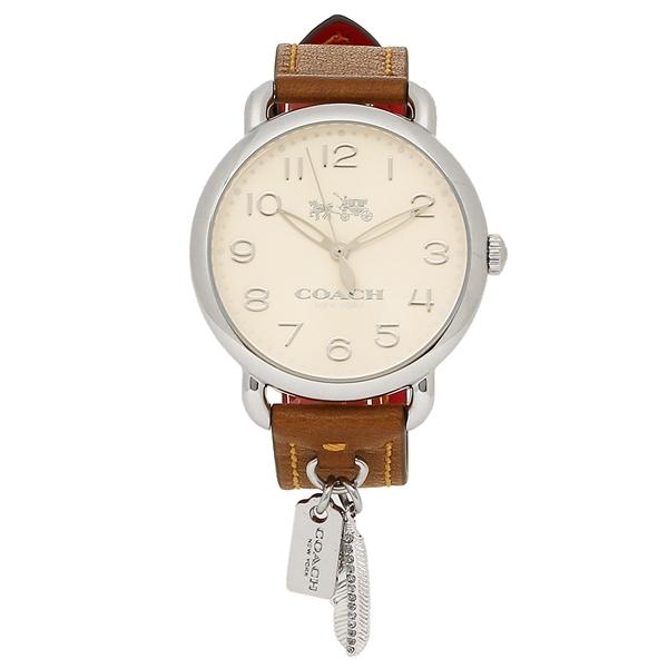 【6時間限定ポイント10倍】【返品OK】コーチ 腕時計 レディース COACH 14502741 ブラウン シルバー