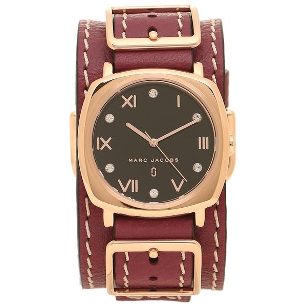 マークジェイコブス 腕時計 レディース MARC JACOBS MJ1631 レッドパープル ローズゴールド