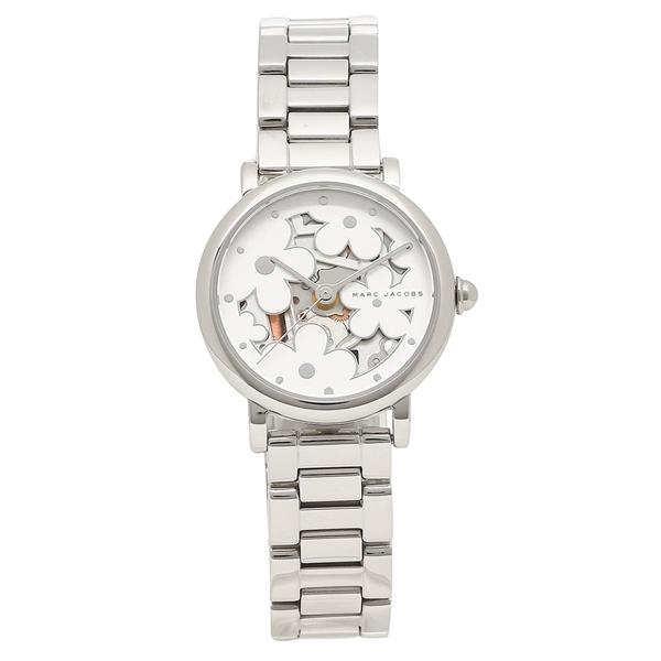 【4時間限定ポイント5倍】マークジェイコブス 腕時計 レディース MARC JACOBS MJ3597 シルバー ホワイト