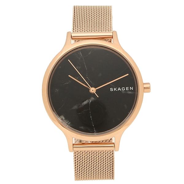 スカーゲン 腕時計 レディース SKAGEN SKW2721 ローズゴールド ブラック