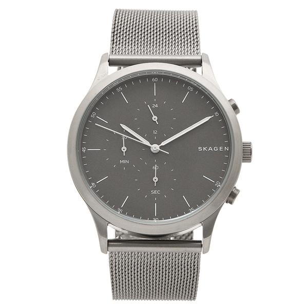 スカーゲン 腕時計 メンズ SKAGEN SKW6476 グレー ブラック