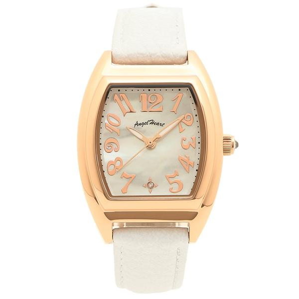 【4時間限定ポイント5倍】エンジェルハート 腕時計 レディース ソーラー ANGEL HEART FS26P-WH ピンクゴールド ホワイト