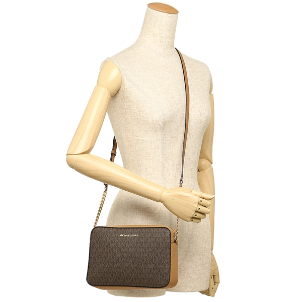 8c8b6674a6bfd1 ... Michael Kors shoulder bag outlet Lady's MICHAEL KORS 35F8GTTC3B BRN/ACRN  brown ...