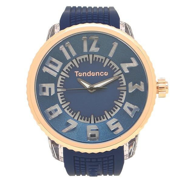 【返品OK】テンデンス 腕時計 レディース/メンズ TENDENCE TY532004 ブルー ゴールド