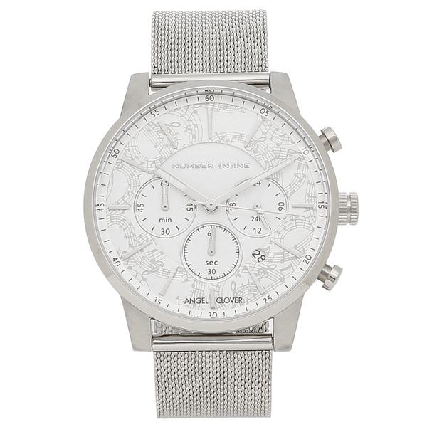 エンジェルクローバー 腕時計 メンズ ANGEL CLOVER NNC42SWH ホワイト シルバー