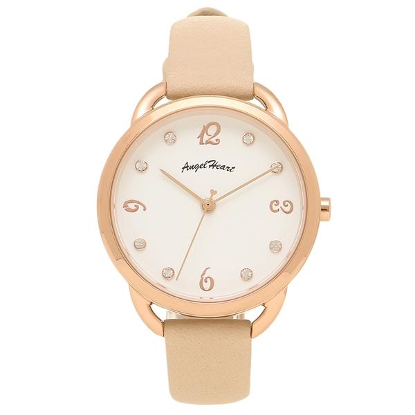 【24時間限定ポイント5倍】エンジェルハート 腕時計 レディース ANGEL HEART VI31P-PK ピンクゴールド ピンク ホワイト