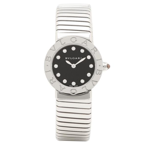 【期間限定ポイント5倍】ブルガリ 腕時計 レディース BVLGARI BBL262TBSS/12.M ブラック シルバー