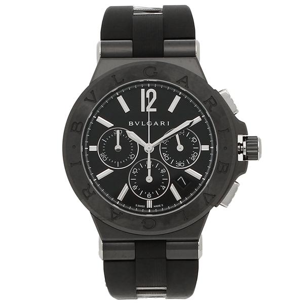 【期間限定ポイント5倍】ブルガリ 腕時計 メンズ 自動巻き BVLGARI DG42BBSCVDCH ブラック