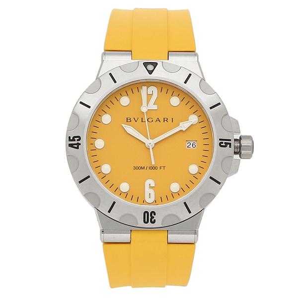 【4時間限定ポイント5倍】ブルガリ 腕時計 メンズ 自動巻き BVLGARI DP41C10SVSD イエロー シルバー