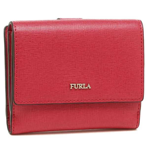 【24時間限定ポイント5倍】フルラ 折財布 レディース FURLA 978871 PZ57 B30 RUB レッド