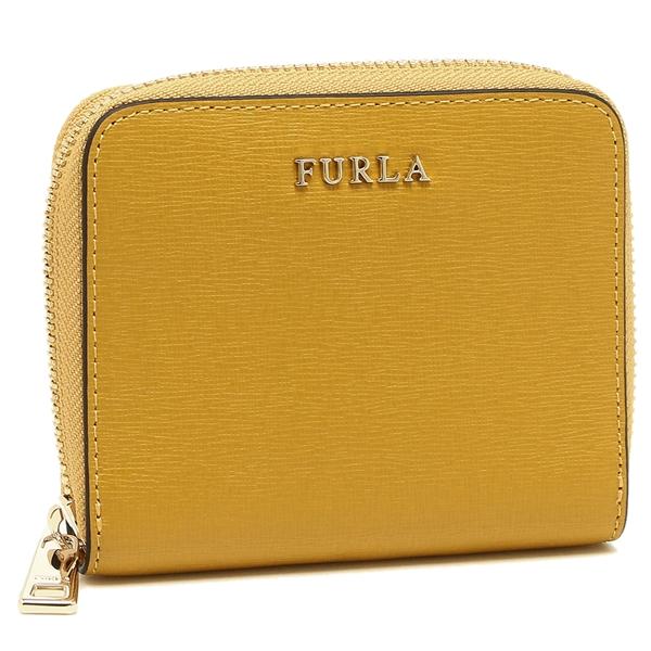 649 レディース FURLA イエロー PR84 979024 フルラ B30 折財布