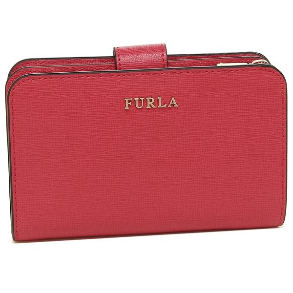 【4時間限定ポイント10倍】フルラ 折財布 レディース FURLA 875396 PR85 B30 RUB レッド