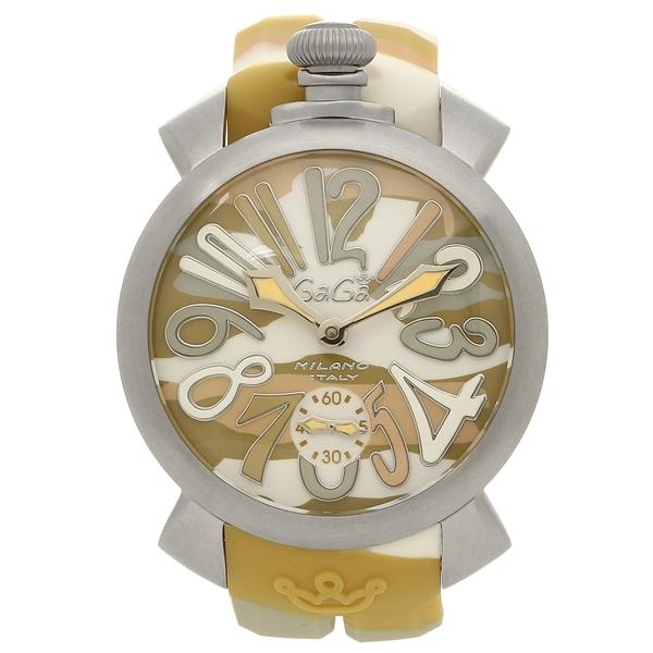 ガガミラノ 腕時計 メンズ GAGA MILANO 5010.17S イエローカモフラージュ