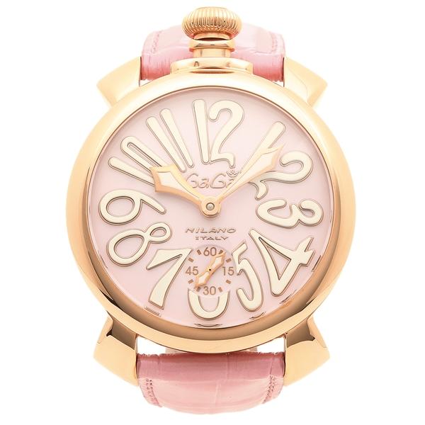 【期間限定ポイント5倍】【返品OK】ガガミラノ 腕時計 メンズ GAGA MILANO 5011.02S-PNK ピンクゴールド ピンク