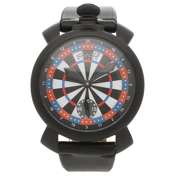 【期間限定ポイント5倍】【返品OK】ガガミラノ 腕時計 メンズ GAGA MILANO 5012LV03 マルチカラー ブラック