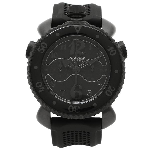 【4時間限定ポイント5倍】ガガミラノ 腕時計 メンズ GAGA MILANO 7012.01 ブラック