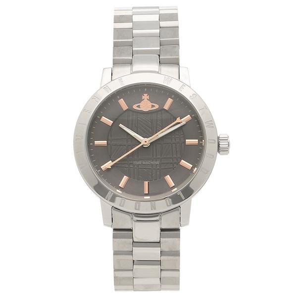 【4時間限定ポイント5倍】ヴィヴィアンウエストウッド 腕時計レディース VIVIENNE WESTWOOD VV152CHSL シルバー グレー