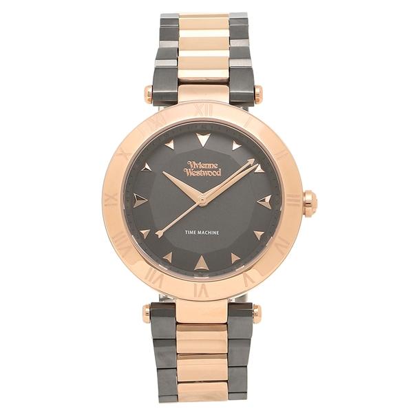 【4時間限定ポイント10倍】ヴィヴィアンウエストウッド 腕時計レディース VIVIENNE WESTWOOD VV206RSGN ローズゴールド ガンメタル