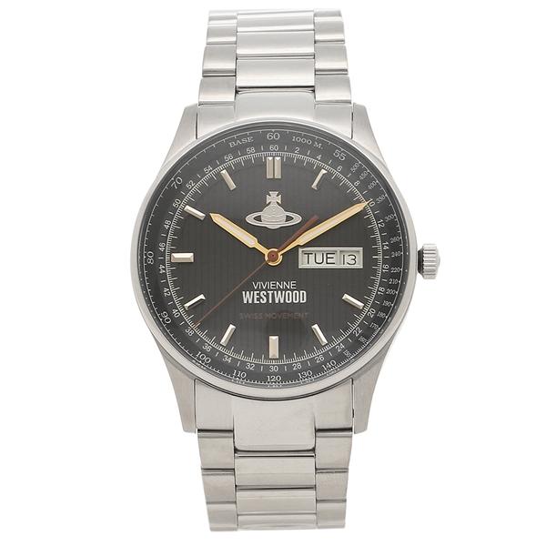 【返品OK】ヴィヴィアンウエストウッド 腕時計メンズ VIVIENNE WESTWOOD VV207BKSL シルバー ブラック